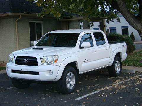 2007 Toyota Tacoma for sale at THE MANHATTAN AUTO GROUP in Greeley CO
