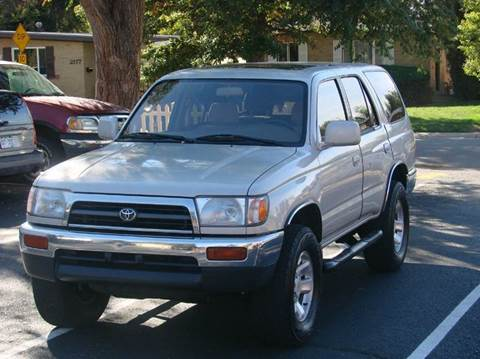 1997 Toyota 4Runner for sale at THE MANHATTAN AUTO GROUP in Greeley CO