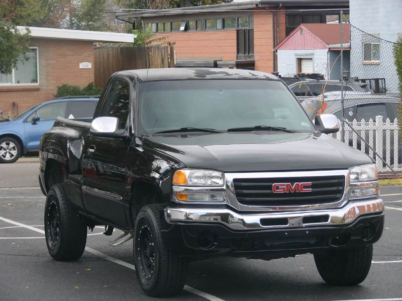 2003 GMC Sierra 1500 for sale at THE MANHATTAN AUTO GROUP in Greeley CO