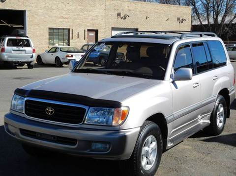 2000 Toyota Land Cruiser for sale at THE MANHATTAN AUTO GROUP in Greeley CO