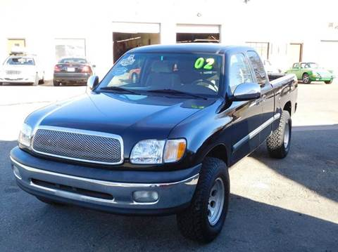 2002 Toyota Tundra for sale at THE MANHATTAN AUTO GROUP in Greeley CO