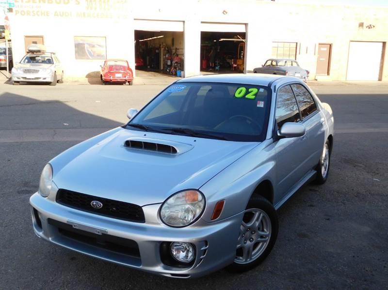 2002 Subaru Impreza for sale at THE MANHATTAN AUTO GROUP in Greeley CO