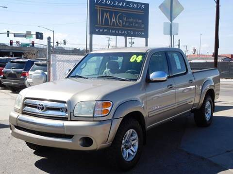2004 Toyota Tundra for sale at THE MANHATTAN AUTO GROUP in Greeley CO