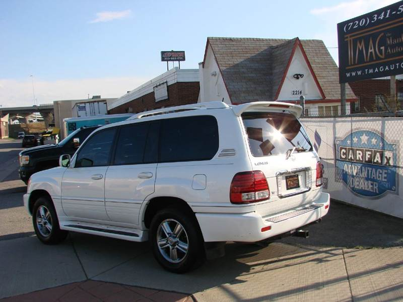 2007 Lexus LX 470 4dr SUV 4WD - Greeley CO