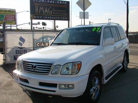 2007 Lexus LX 470 for sale at THE MANHATTAN AUTO GROUP in Greeley CO