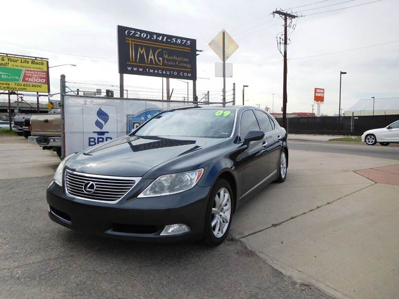 2009 Lexus LS 460 for sale at THE MANHATTAN AUTO GROUP in Greeley CO