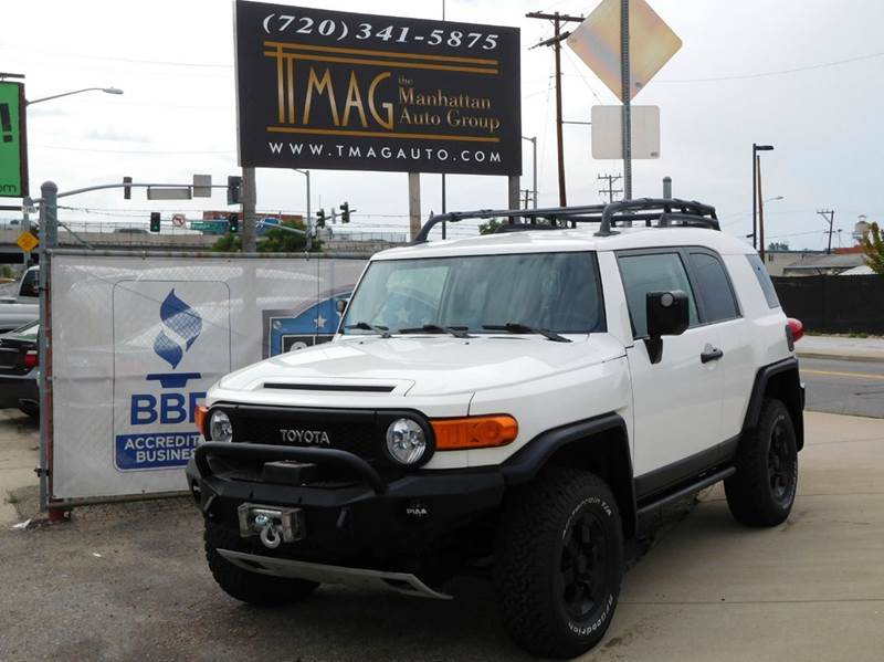 2008 Toyota FJ Cruiser for sale at THE MANHATTAN AUTO GROUP in Greeley CO