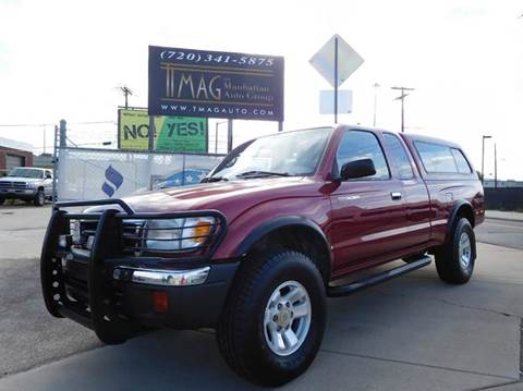 1999 Toyota Tacoma for sale at THE MANHATTAN AUTO GROUP in Greeley CO