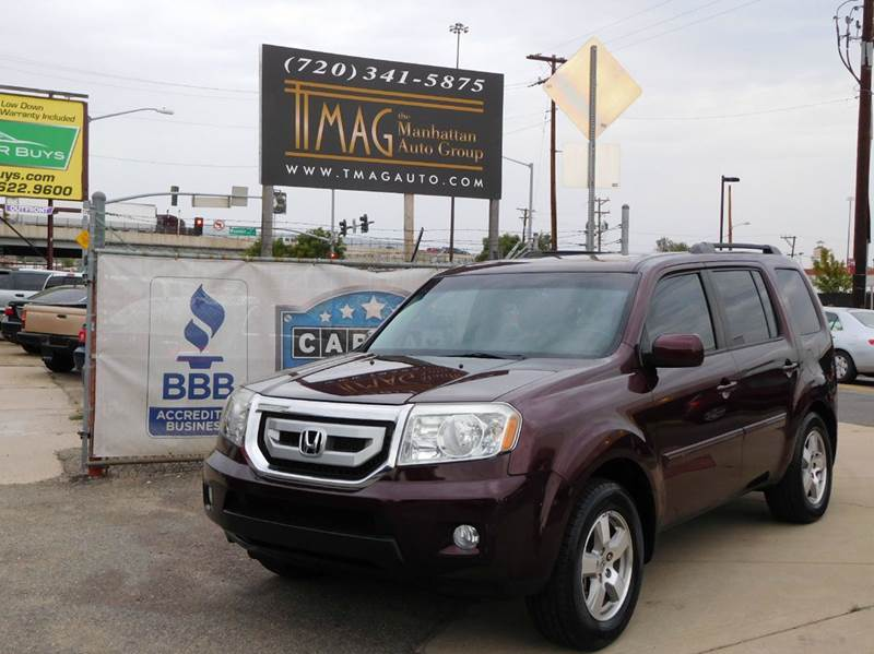 2011 Honda Pilot for sale at THE MANHATTAN AUTO GROUP in Greeley CO