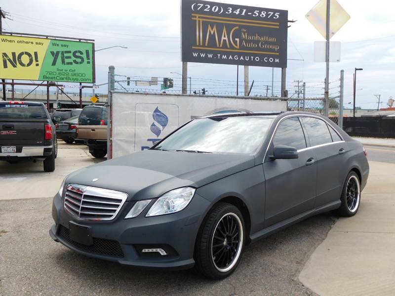 2011 Mercedes-Benz E-Class for sale at THE MANHATTAN AUTO GROUP in Greeley CO