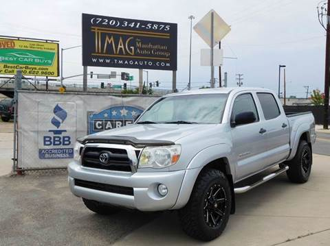 2006 Toyota Tacoma for sale at THE MANHATTAN AUTO GROUP in Greeley CO