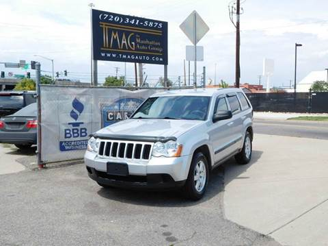 2008 Jeep Grand Cherokee for sale at THE MANHATTAN AUTO GROUP in Greeley CO