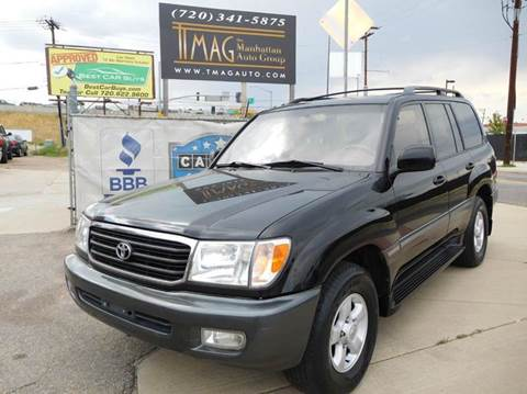 1998 Toyota Land Cruiser for sale at THE MANHATTAN AUTO GROUP in Greeley CO