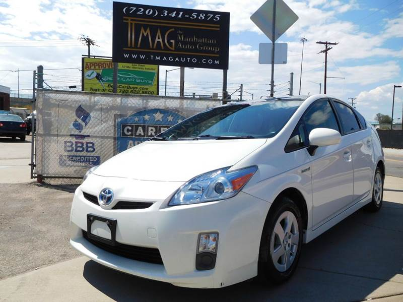 2010 Toyota Prius for sale at THE MANHATTAN AUTO GROUP in Greeley CO