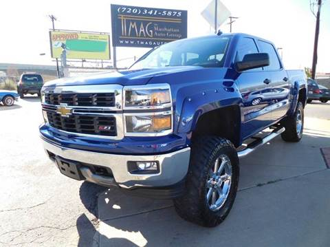 2014 Chevrolet Silverado 1500 for sale at THE MANHATTAN AUTO GROUP in Greeley CO