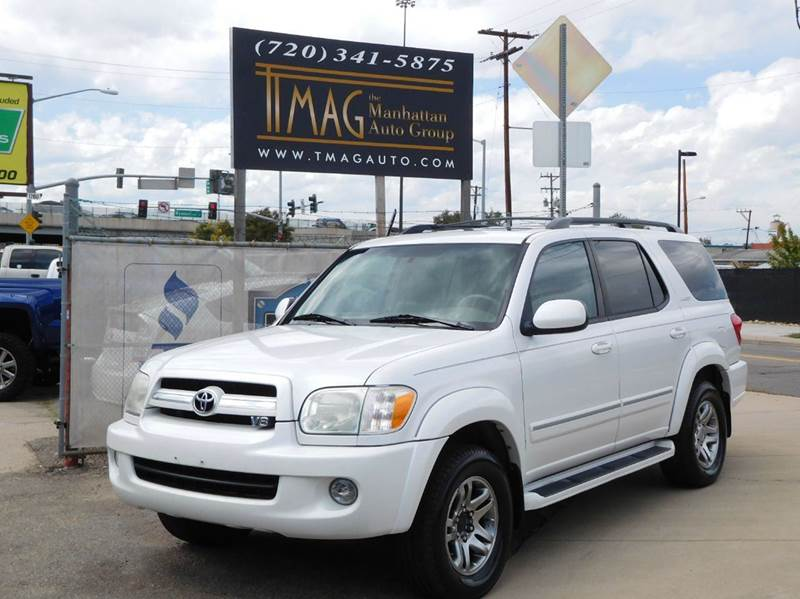 2005 Toyota Sequoia Limited 4WD 4dr SUV - Greeley CO