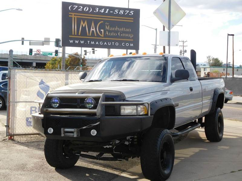 1999 Dodge Ram Pickup 2500 for sale at THE MANHATTAN AUTO GROUP in Greeley CO