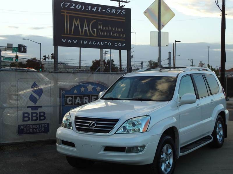 2007 Lexus GX 470 for sale at THE MANHATTAN AUTO GROUP in Greeley CO