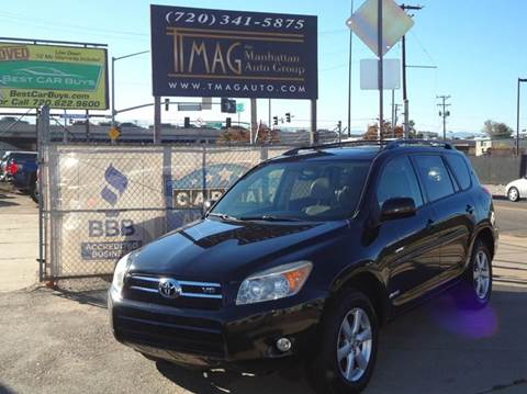 2007 Toyota RAV4 for sale at THE MANHATTAN AUTO GROUP in Greeley CO