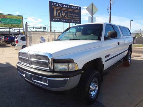1998 Dodge Ram Pickup 2500 for sale at THE MANHATTAN AUTO GROUP in Greeley CO