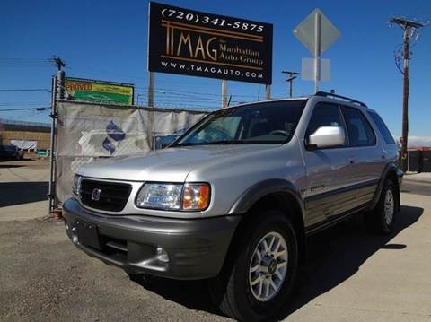 2002 Honda Passport for sale at THE MANHATTAN AUTO GROUP in Greeley CO