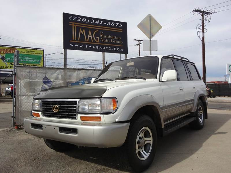 1996 Lexus LX 450 for sale at THE MANHATTAN AUTO GROUP in Greeley CO