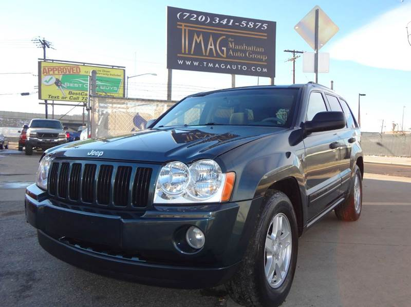 2006 Jeep Grand Cherokee for sale at THE MANHATTAN AUTO GROUP in Greeley CO