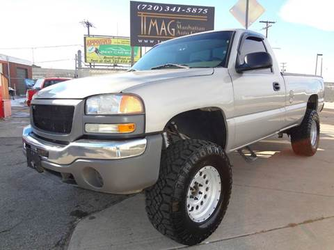 2006 GMC Sierra 1500 for sale at THE MANHATTAN AUTO GROUP in Greeley CO