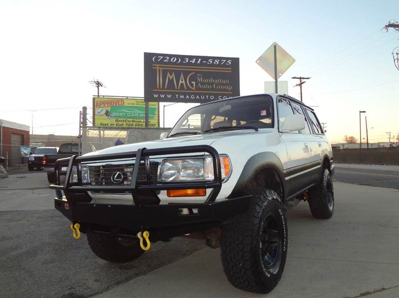 1997 Lexus LX 450 for sale at THE MANHATTAN AUTO GROUP in Greeley CO