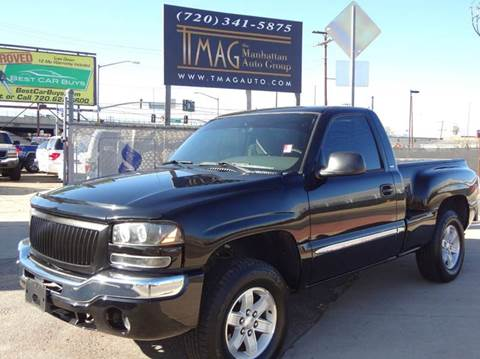2004 GMC Sierra 1500 for sale at THE MANHATTAN AUTO GROUP in Greeley CO