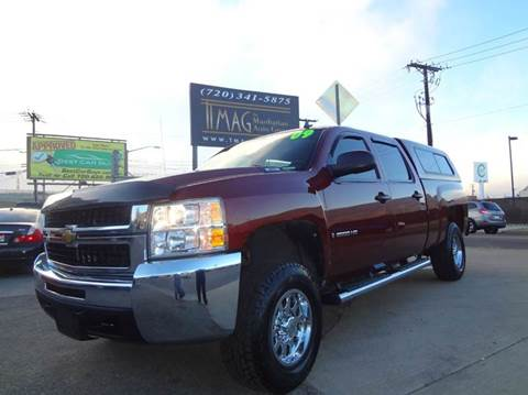 2009 Chevrolet Silverado 2500HD for sale at THE MANHATTAN AUTO GROUP in Greeley CO