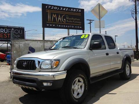 2003 Toyota Tacoma for sale at THE MANHATTAN AUTO GROUP in Greeley CO
