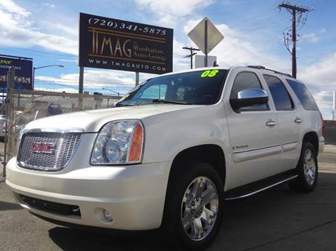 2008 GMC Yukon for sale at THE MANHATTAN AUTO GROUP in Greeley CO