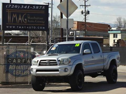 2010 Toyota Tacoma for sale at THE MANHATTAN AUTO GROUP in Greeley CO