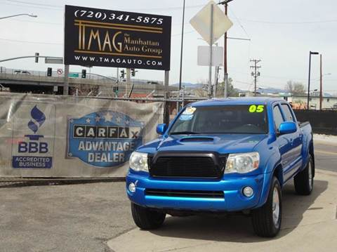2005 Toyota Tacoma for sale at THE MANHATTAN AUTO GROUP in Greeley CO