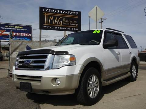 2009 Ford Expedition for sale at THE MANHATTAN AUTO GROUP in Greeley CO
