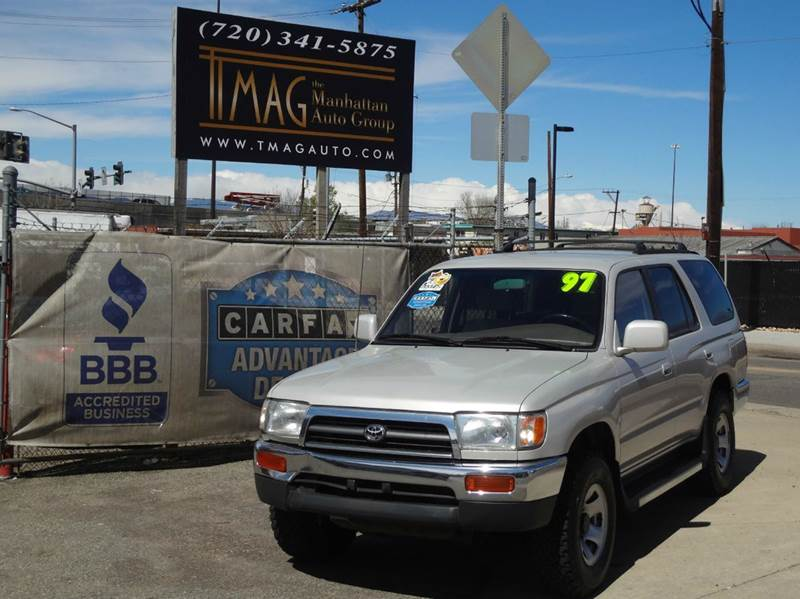 1997 Toyota 4Runner 4dr SR5 4WD SUV - Greeley CO
