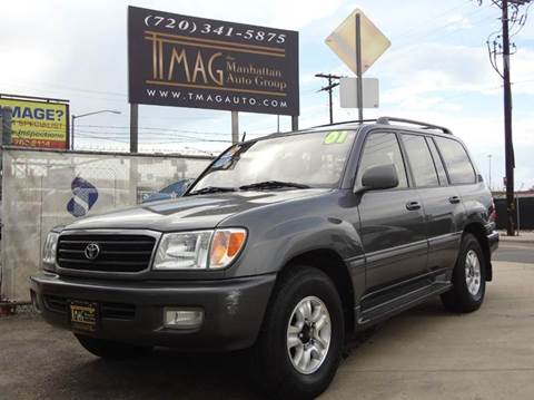 2001 Toyota Land Cruiser for sale at THE MANHATTAN AUTO GROUP in Greeley CO