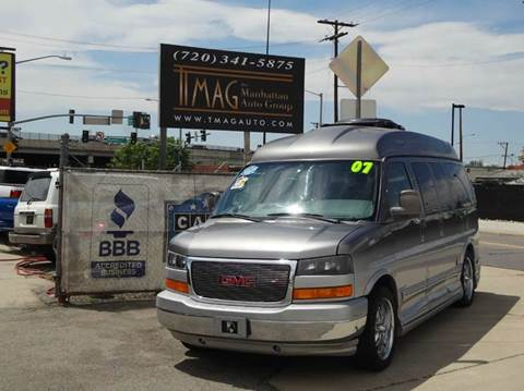 2007 GMC Savana Passenger for sale at THE MANHATTAN AUTO GROUP in Greeley CO