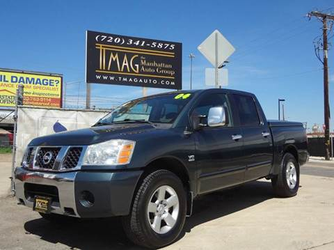2004 Nissan Titan for sale at THE MANHATTAN AUTO GROUP in Greeley CO