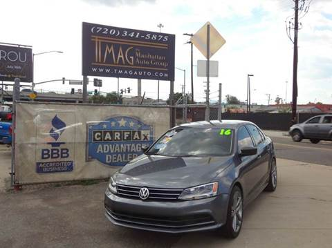 2016 Volkswagen Jetta for sale at THE MANHATTAN AUTO GROUP in Greeley CO