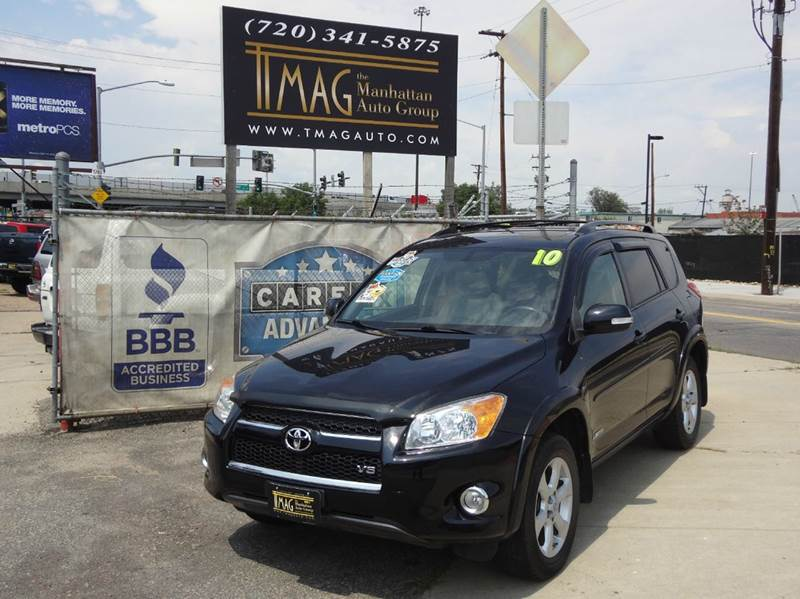2010 Toyota RAV4 for sale at THE MANHATTAN AUTO GROUP in Greeley CO