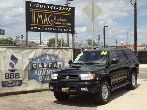 2000 Toyota 4Runner for sale at THE MANHATTAN AUTO GROUP in Greeley CO