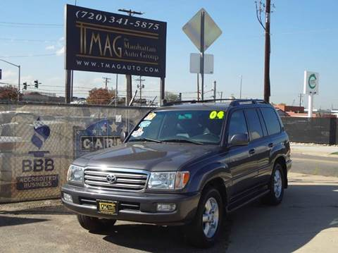 2004 Toyota Land Cruiser for sale at THE MANHATTAN AUTO GROUP in Greeley CO