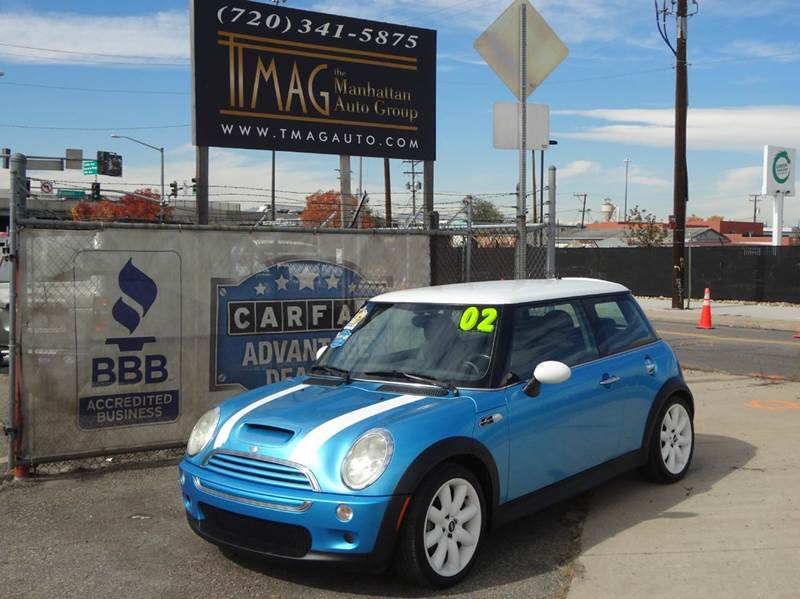2002 MINI Cooper for sale at THE MANHATTAN AUTO GROUP in Greeley CO