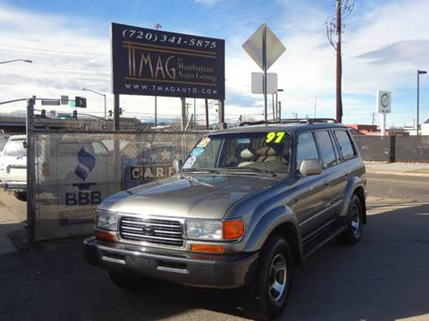 1997 Toyota Land Cruiser for sale at THE MANHATTAN AUTO GROUP in Greeley CO