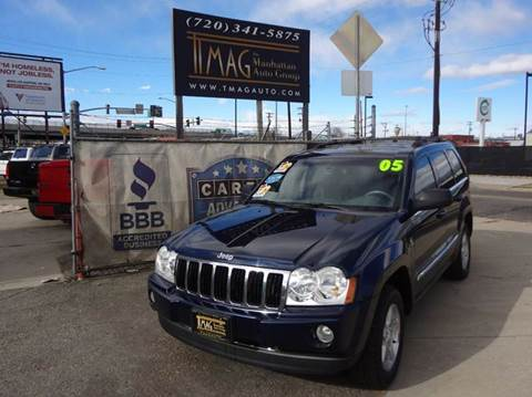 2005 Jeep Grand Cherokee for sale at THE MANHATTAN AUTO GROUP in Greeley CO