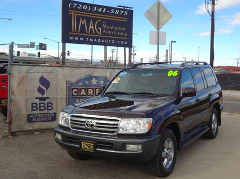 2006 Toyota Land Cruiser for sale at THE MANHATTAN AUTO GROUP in Greeley CO