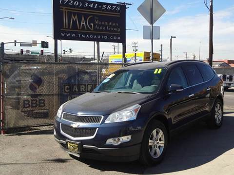 2011 Chevrolet Traverse for sale at THE MANHATTAN AUTO GROUP in Greeley CO