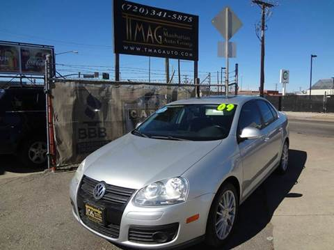 2009 Volkswagen Jetta for sale at THE MANHATTAN AUTO GROUP in Greeley CO